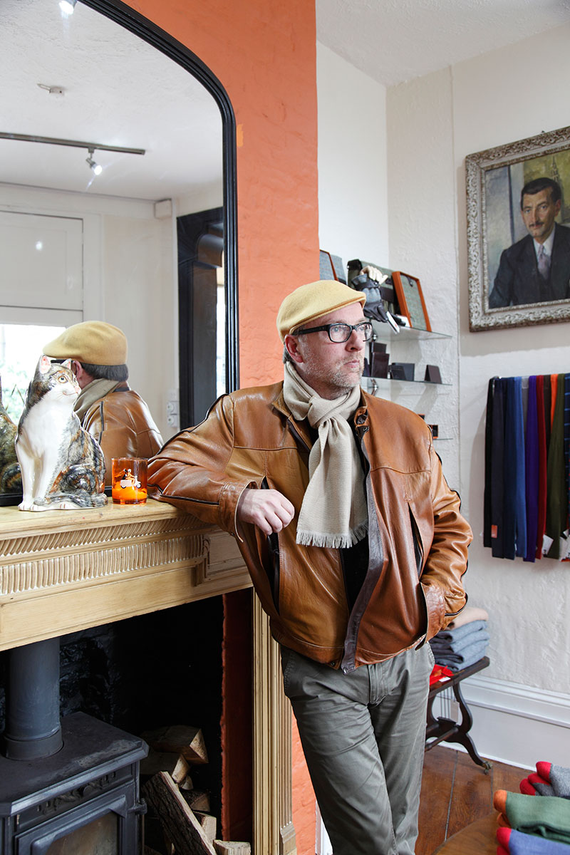 Menswear Designer, Simon Carter