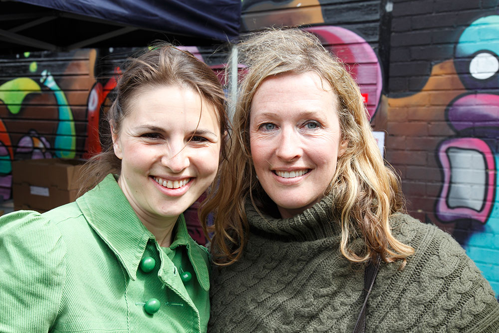 Founders of Crystal Palace Market, Rachel de Thample & Karen Jones