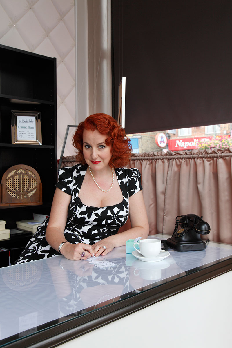 Vintage Salon/Spa owner, Renee Thornley