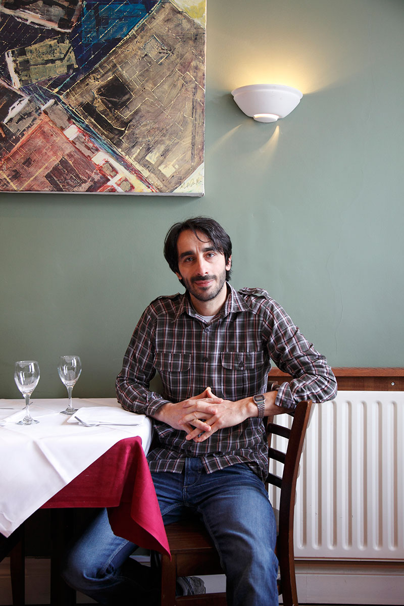 Restaurant owner, Effisio Fronteddu