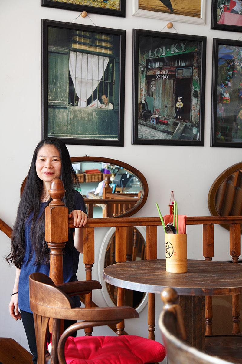 Restaurant owner, Huong Nguyen