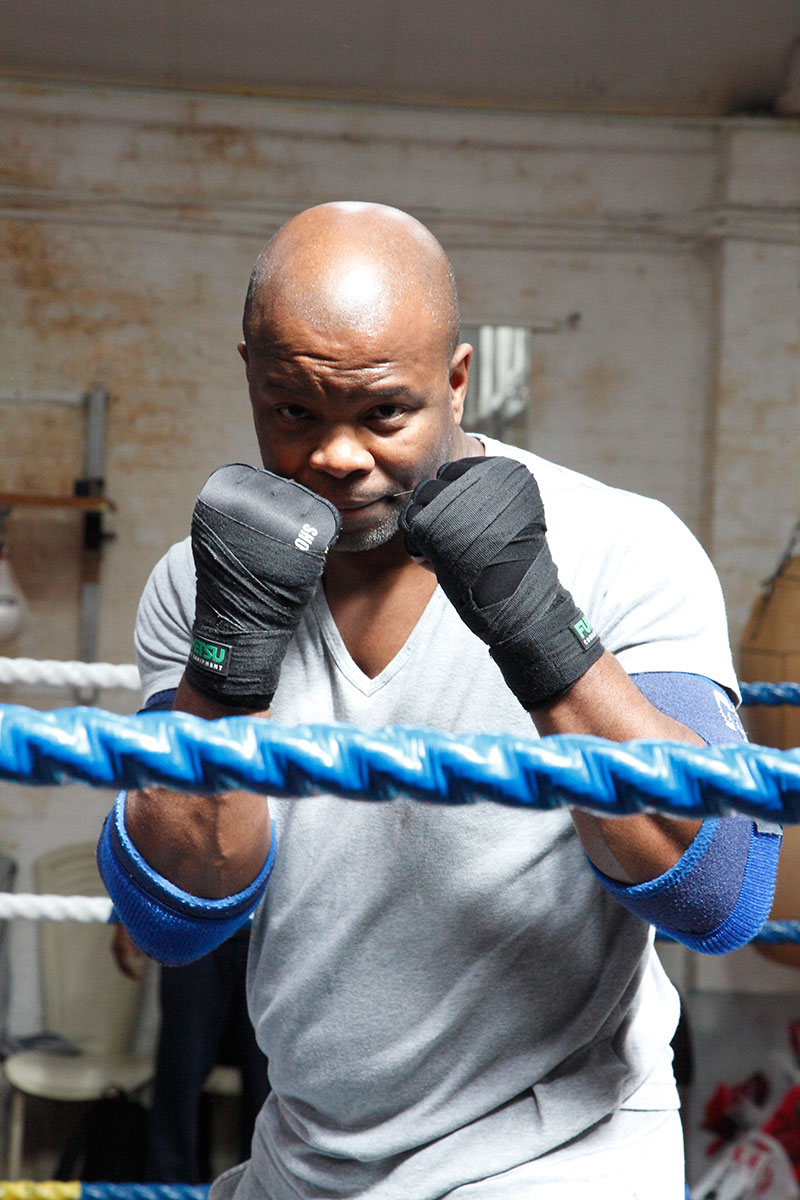Boxing champion and gym owner, Duke McKenzie