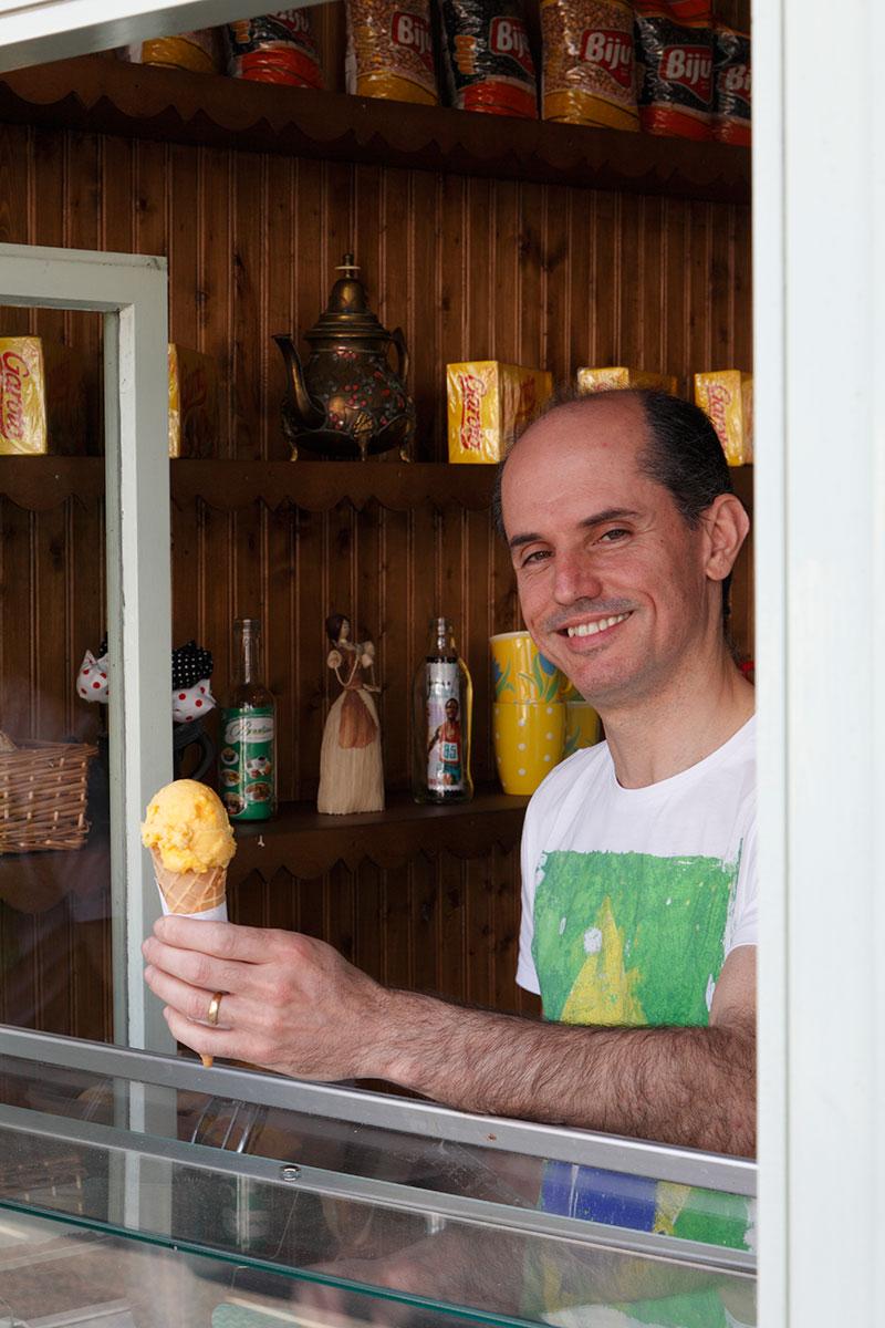 Brazilian Cafe owner, Marcos Camarotte
