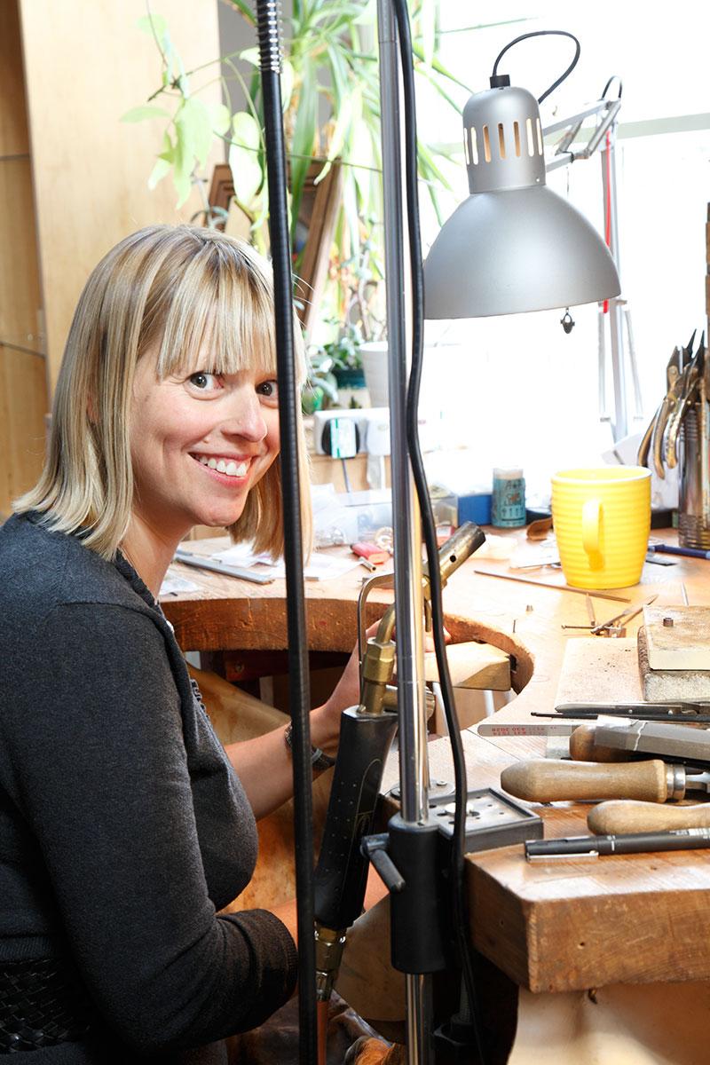 Jewellery designer, Tine Bladbjerg